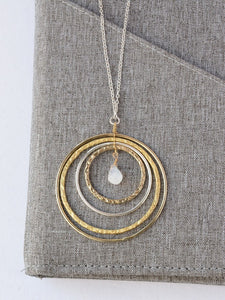 Layered Loop Necklace - Small Things Fair Trade