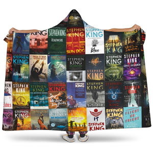 Always Stephen King Hooded Blanket