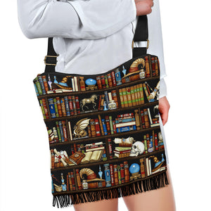 Book Reader Crossbody Boho Bag V.1