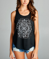 Celestial Zodiac Black Yoga Top - kdthreads