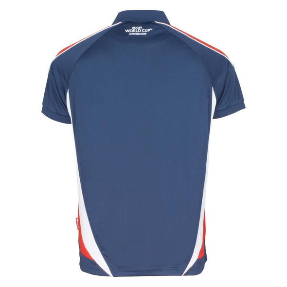 Rugby World Cup 2019 Men's Panel Poly Polo | Navy | L