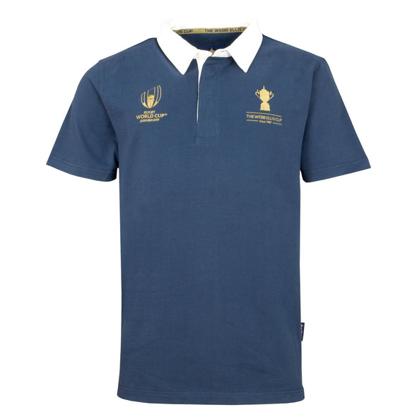 Rugby World Cup 2019 Webb Ellis Cup Short Sleeve Rugby Shirt | Navy