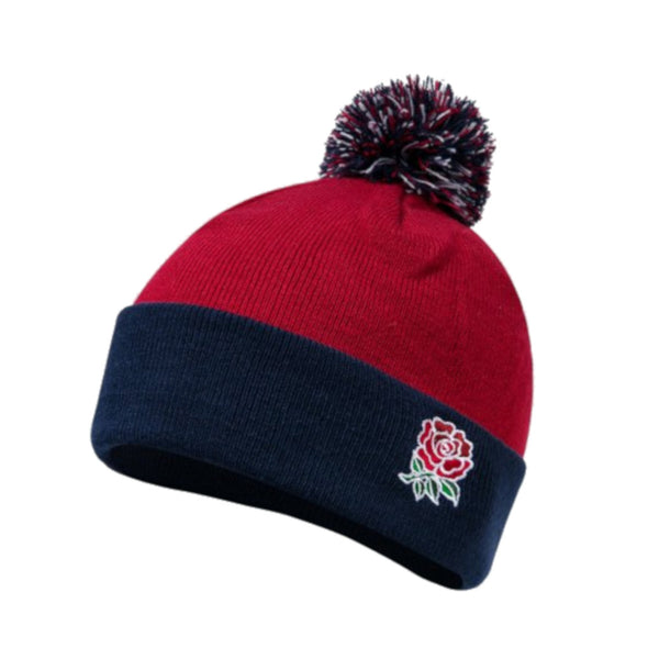 Canterbury England RFU Rugby Bobble Hat | Chili Pepper | 2019 | One Size