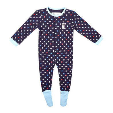 ECB England Cricket Baby Sleepsuit | Navy | 2019