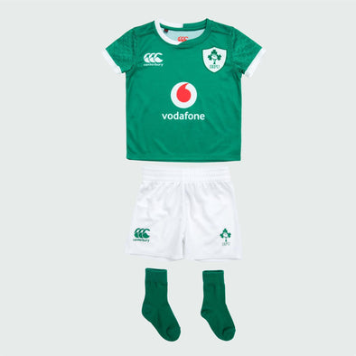 Canterbury Ireland IRFU Rugby Infant Home Pro Mini Kit | Bosphorus | 2019