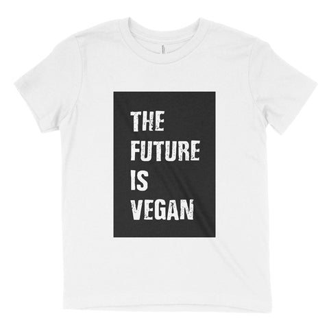 The Future Is Vegan colour block t-shirt - youth (age 6-16)