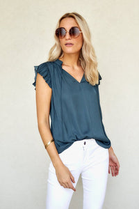 Toni Tie Neck Top