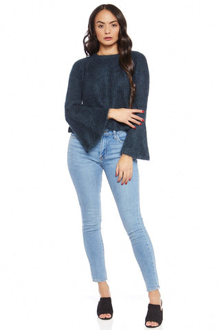 Emery Bell Sleeve Sweater