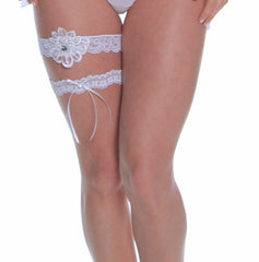 Women's Bridal Leg Garter Set # B306C/X