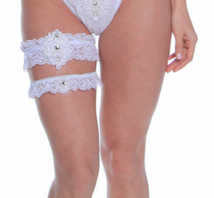 Women's Bridal Leg Garter Set # B315C/X