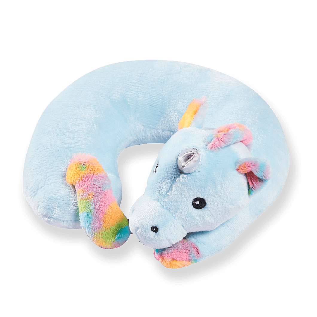 Children Unicorn Travel Pillow - Unicorn,Memory Foam Cushion Neck Pillows Removable Washable Cover