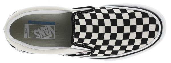 SLIP-ON PRO  (CHECKERBOARD) BLACK/WHITE