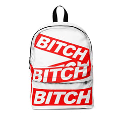 * BITCH W Unisex Classic Backpack