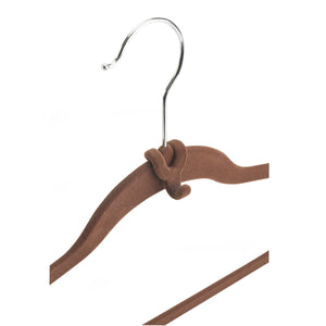 Cascading Hanger Hooks - Set of 10 - Chocolate - 75% OFF