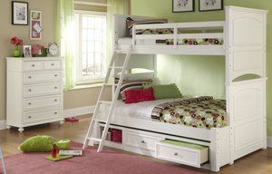 LC Kids Madison  BOOKCASE BED FULL