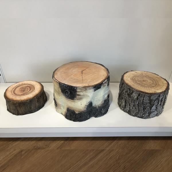 Faux Stump Risers