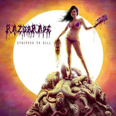 RAZORRAPE - Stripped to Kill CD*