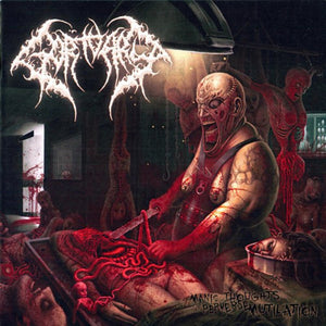 GORTUARY - Manic Thoughts Of Perverse Mutilation CD