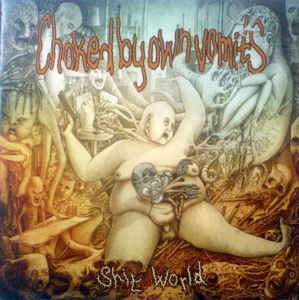 CHOKED BY OWN VOMITS - Shit World CD