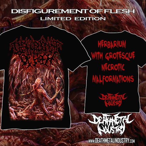 DISFIGUREMENT OF FLESH - Herbarium With Grotesque Necrotic Malformations [T-SHIRT]