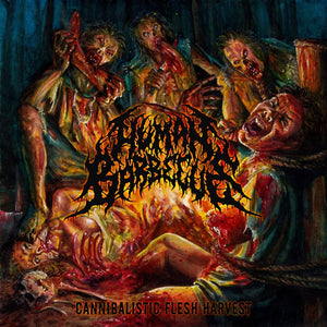 HUMAN BARBECUE - Cannibalistic Flesh Harvest CD