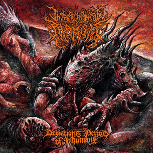 INTRACRANIAL PARASITE - Deviations Period of Inhumane CD Reissue