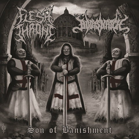 FLESH THRONE / BODYSNATCH  - Son Of Banishment CD