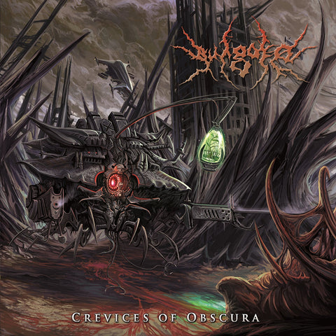 VULGORE - Crevices Of Obscura CD