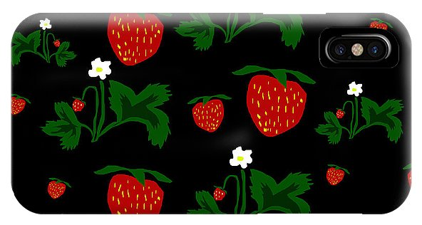 Strawberries Pattern - Phone Case