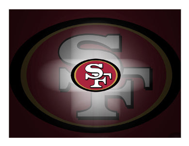 San Francisco 49ers Football Edible Cake Image Cake Topper - Cakes For Cures