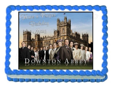 Downton Abbey Edible Cake Image Cake Topper - Cakes For Cures