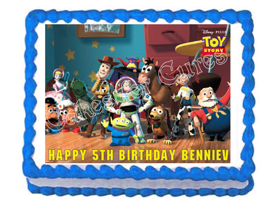 Toy Story Jessie & Woody Edible Cake Image Cake Topper - Cakes For Cures