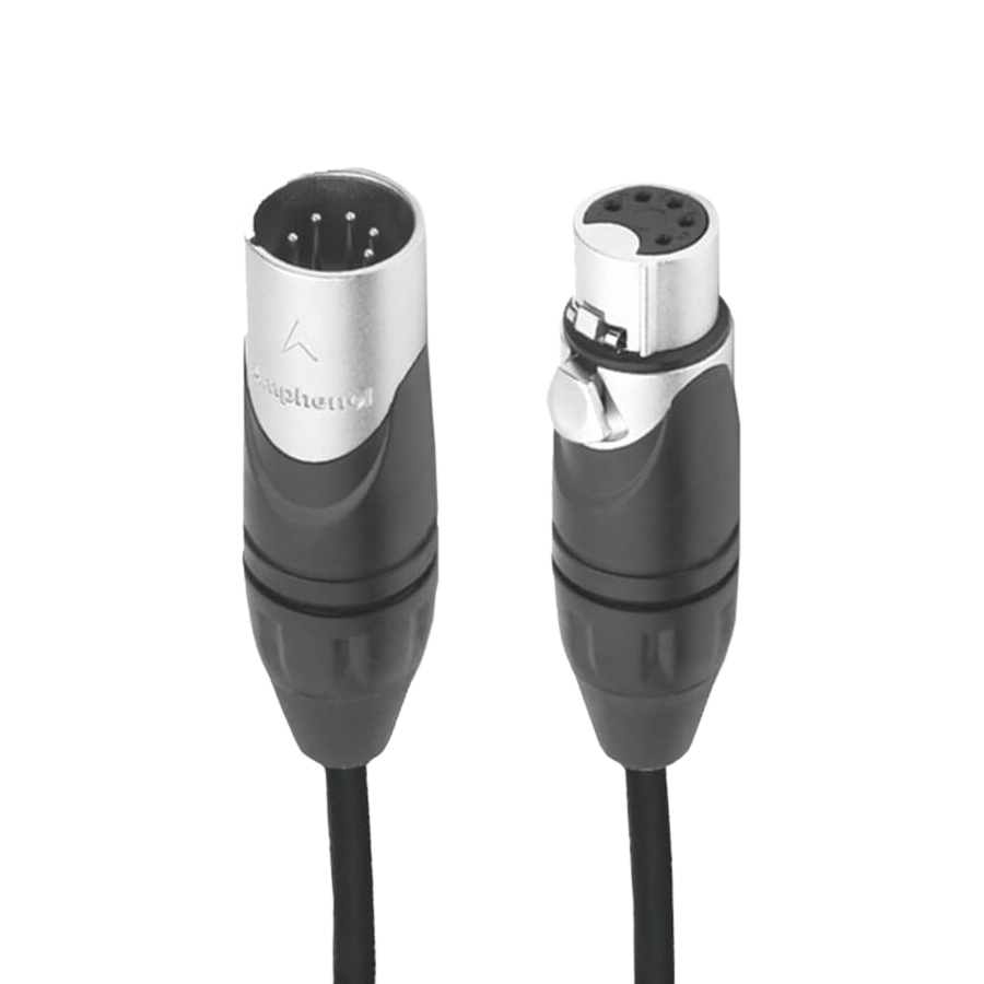 Amphenol DMX Cable 5 Pin