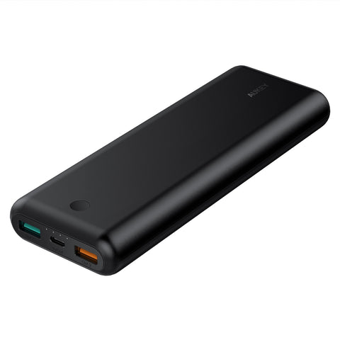 20100mAh USB-C Power Delivery Power Bank with Quick Charge 3.0 and AiPower Adaptive Charging