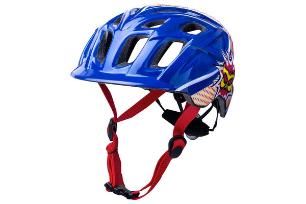 Kali Protectives Chakra Child Helmet: Pow Blue/Red One Size