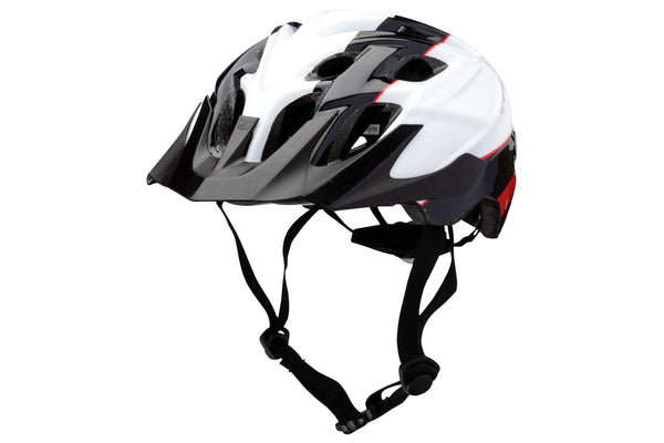 Kali Protectives Chakra Youth Helmet: Sublime Black/Red One Size