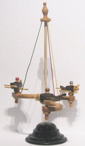 Bi-Plane Carousel Toy Close Up, Artist Charles Hayward