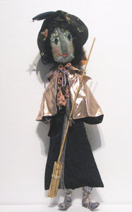 Wanda The Witch, artist Louise Chisholm