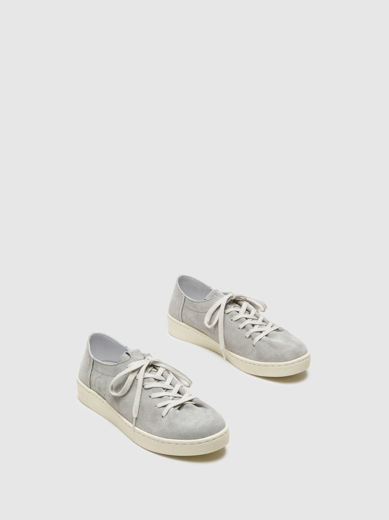 Zapatillas con Cordones en color Gris