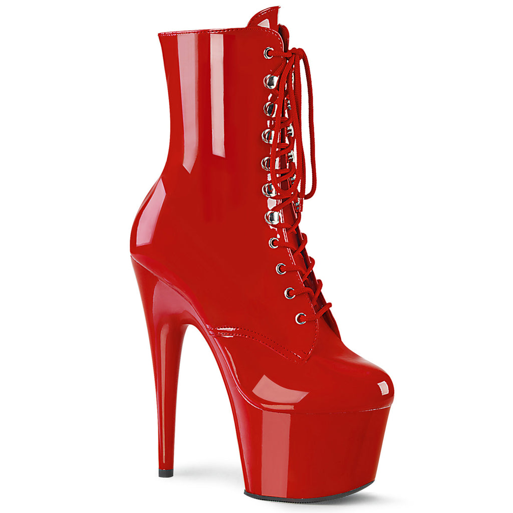 Adore 1020 Red Patent Platform Boots