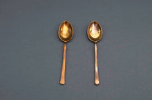 Load image into Gallery viewer, The Headhunter Cara - Pair of Enamel Decorated Coffee Spoons