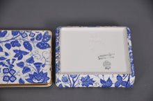 Load image into Gallery viewer, The Mixologist Darren - Vintage Blue & White Ceramic Container
