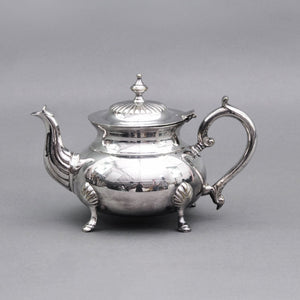 The Punk Ava - Ornate Lid and Footed Teapot