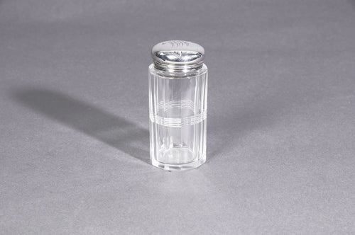 The Mixologist Jesse - Glass Jar with Silver Lid
