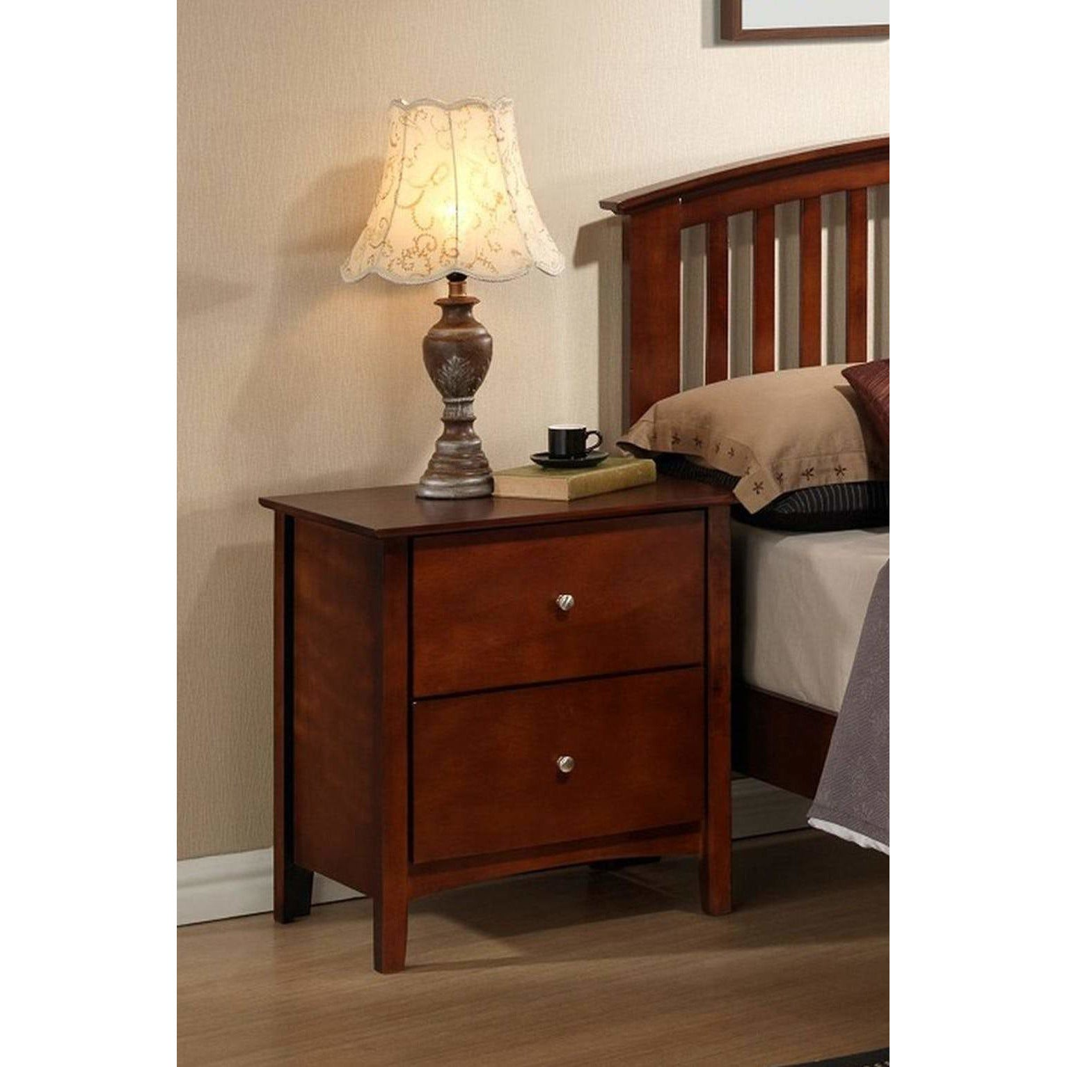 Metro Expresso Nightstand