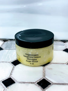 Tangerine Lemon Meringue Sugar Scrub