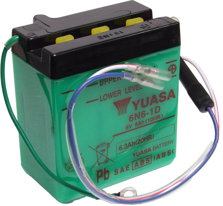 6N6-1D battery from Batteryworld.ie