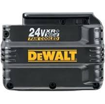 dewalt 24 volt 2 amp rebuild service from Batteryworld.ie