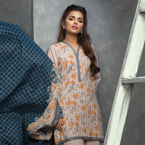 Orient Doria Printed Lawn Suit-A087 - test-store-for-chase-value