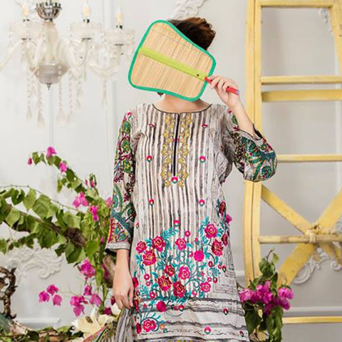 Sauda Saad Embroidered Lawn Suit Vol-01 - 04B - test-store-for-chase-value